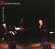 CD Due come noi che Gino Paoli Danilo Rea