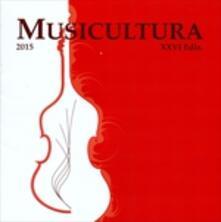 Musicultura 2015 - CD Audio