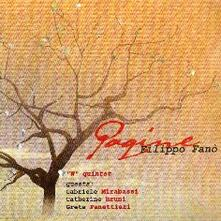 Pagine - CD Audio di Filippo Fanò