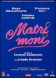 Cover Dvd DVD Matrimoni