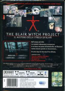 The Blair Witch Project. Il mistero della strega di Blair di Daniel Myrick,Eduardo Sanchez - DVD - 2