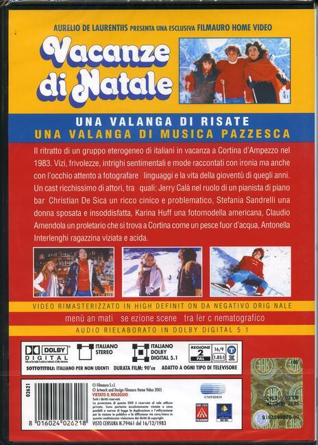 Vacanze di Natale di Carlo Vanzina - DVD - 2