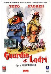 Foto di Guardie e ladri, Film di Steno,Mario Monicelli con Totò,Aldo Fabrizi,Rossana Podestà,Ave Ninchi,Aldo Giuffrè,Carlo Delle Piane