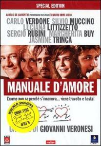 Manuale d'amore (2 DVD) di Giovanni Veronesi - DVD