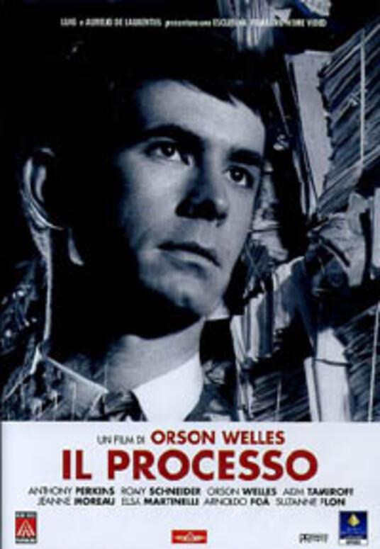 Il processo di Orson Welles - DVD