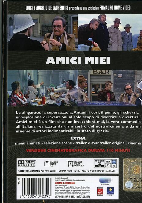 Amici miei di Mario Monicelli - DVD - 2