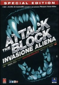 Cover Dvd Attack the Block. Invasione aliena