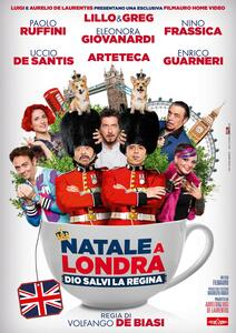 Natale a Londra. Dio salvi la regina (DVD) di Volfango De Biasi - DVD