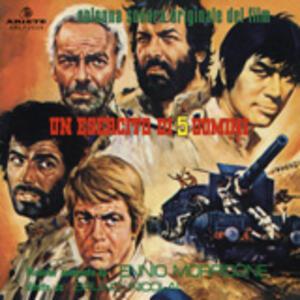 Un esercito di 5 uomini (Colonna Sonora) - Vinile LP di Ennio Morricone