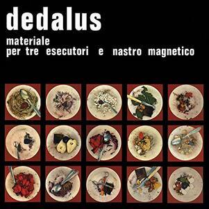 Materiale per tre esecutori e nastro magnetico - Vinile LP di Dedalus