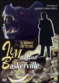 Locandina Il mastino di Baskerville. Il demone che uccide