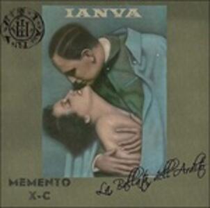 Memento X-C. La ballata dell'Ardito - Vinile LP di Ianva