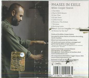 Phases in Exile - CD Audio di Miles Cooper Seaton - 2