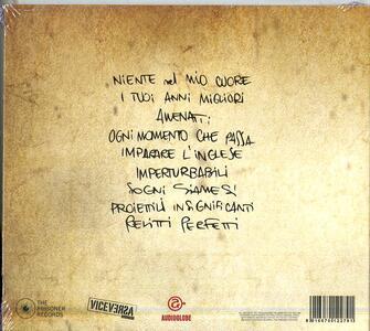 Dentro la stessa tempesta - CD Audio di Erri - 2