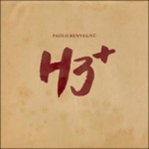 CD H3+ di Paolo Benvegnù