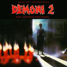 Demons 2 (Limited Blood Red Coloured Vinyl Edition) (Colonna Sonora) - Vinile LP di Simon Boswell