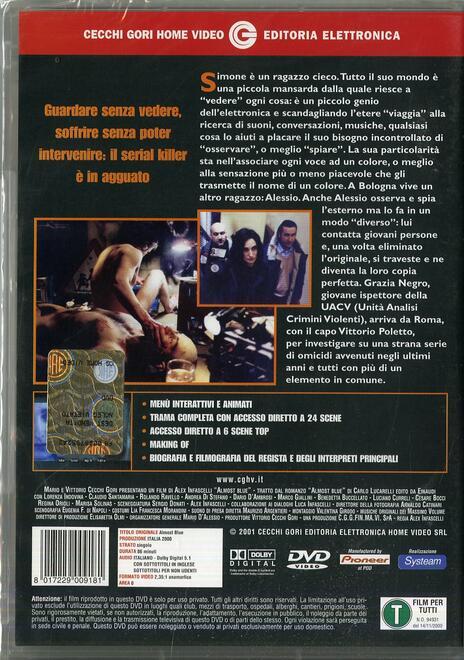 Almost Blue. Quasi blu di Alex Infascelli - DVD - 2