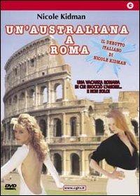 Locandina Un'australiana a Roma