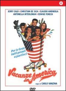 Vacanze in America di Carlo Vanzina - DVD