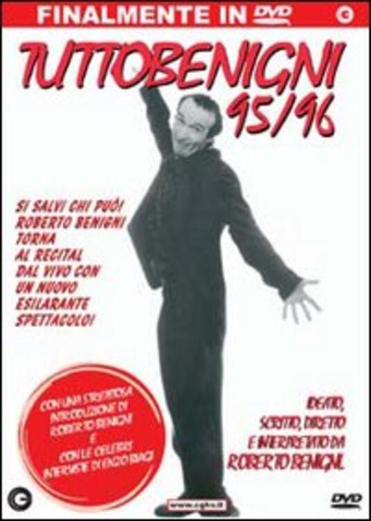 Tuttobenigni 95-96 di Roberto Benigni - DVD