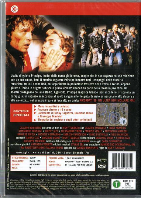Ultrà di Ricky Tognazzi - DVD - 2