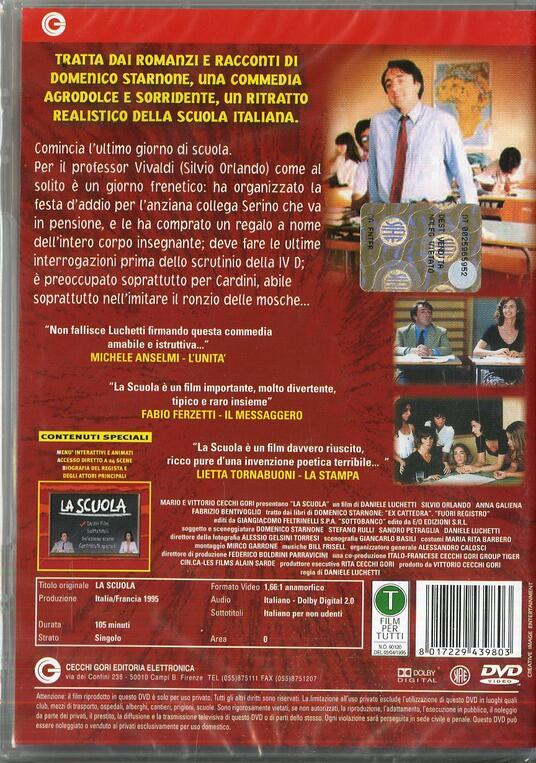 La scuola di Daniele Luchetti - DVD - 2