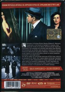 La donna del ritratto di Fritz Lang - DVD - 2