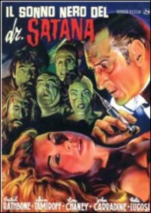 Il sonno nero del dottor Satana di Reginald Le Borg - DVD