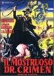 Cover Dvd DVD Il mostruoso dottor Crimen