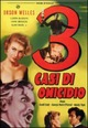 Cover Dvd Tre casi di omicidio