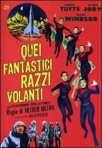 Cover Dvd Quei fantastici pazzi volanti (DVD)