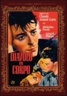 Il diavolo in corpo - DVD - Film di Claude Autant-Lara Drammatico ...