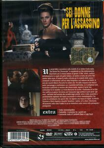Sei donne per l'assassino di Mario Bava - DVD - 2