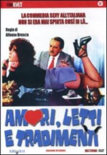 Amori, letti e tradimenti di Alfonso Brescia - DVD