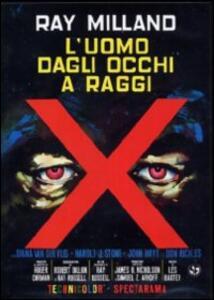 L' uomo dagli occhi a raggi X (DVD) di Roger Corman - DVD