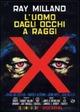Cover Dvd DVD L'uomo dagli occhi a raggi X