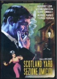 Locandina Scotland Yard - Sezione omicidi