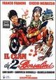 Cover Dvd DVD Il clan dei due Borsalini