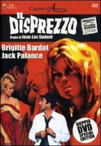 Il disprezzo (2 DVD) di Jean-Luc Godard