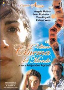 L' ultimo cinema del mondo di Alejandro Agresti - DVD