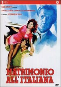 Matrimonio all'italiana di Vittorio De Sica - DVD