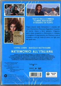 Matrimonio all'italiana di Vittorio De Sica - DVD - 2