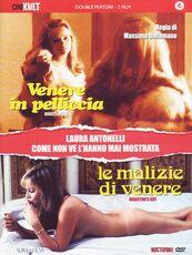 Film Venere in pelliccia + Le malizie di Venere. Director's Cut (DVD) Massimo Dallamano