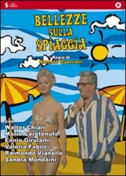 Bellezze sulla spiaggia di Romolo Girolami,Marino Girolami - DVD