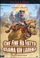 Cover Dvd Che fine ha fatto Osama Bin Laden?