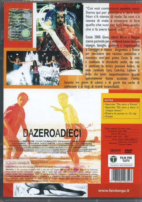 Dazeroadieci di Luciano Ligabue - DVD - 2