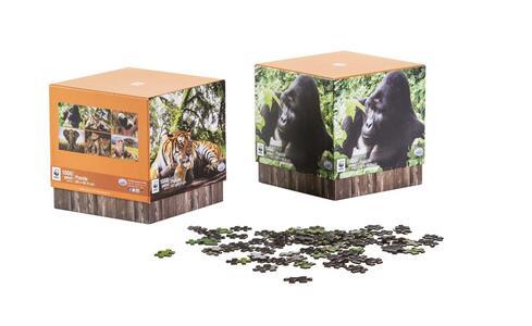 Wwf.  P Cube  Puzzle 1000 Pz