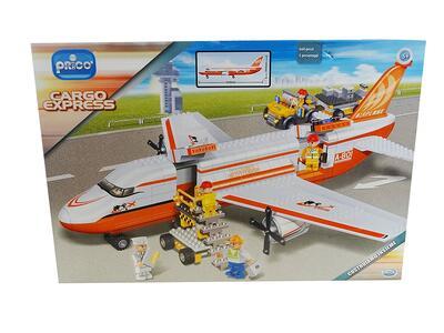 Aereo Cargo con Personaggio. 660 pezzi - 4