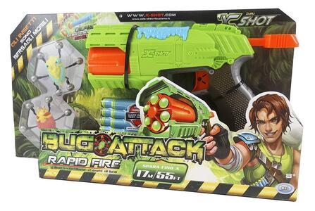 Bug Attack. Rapid Fire Pistola C/2 Bug E 8 Dardi - 2