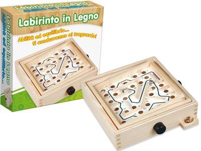 Labirinto In Scatola 20x20 Cm